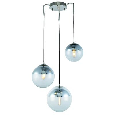 Simeone 3-Light Cluster Pendant
