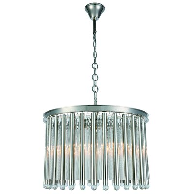 Maxwell 6-Light Chandelier Finish: Polished Nickel