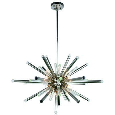Pavie 14-Light Sputnik Chandelier Finish: Polished Nickel