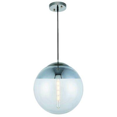 Simeone 1-Light Globe Pendant Size: 60 H x 9 W x 9 D