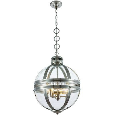 Casanova 3-Light Globe Pendant
