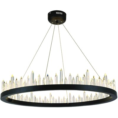 Rosendo 40-Light Crystal Pendant