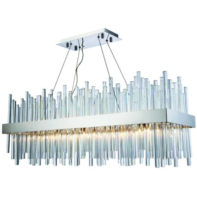 Perlo 20-Light Kitchen Island Pendant