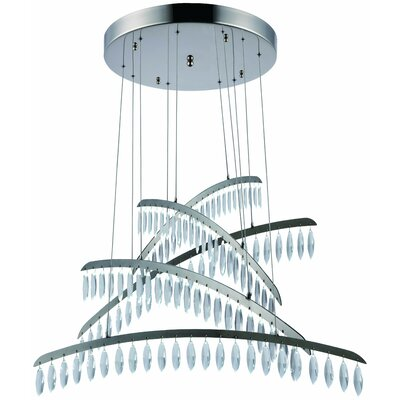 Mese 115-Light LED Crystal Pendant