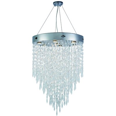 Carmel 7-Light Crystal Chandelier
