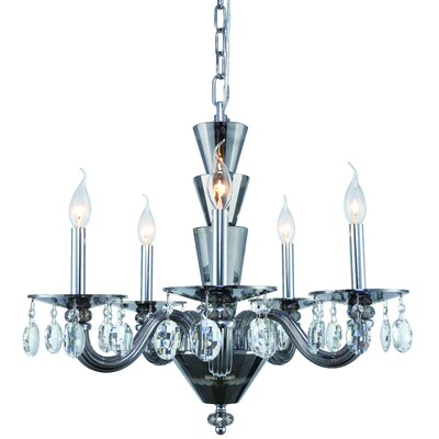 Augusta 5-Light Candle-Style Chandelier