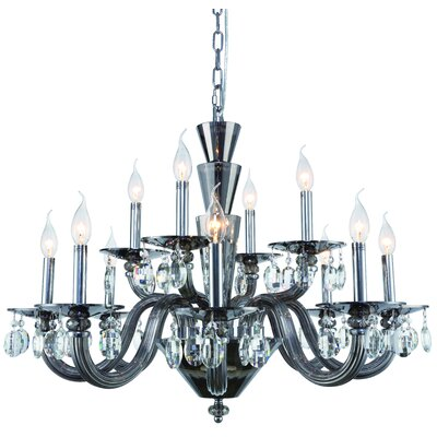 Augusta 12-Light Candle-Style Chandelier