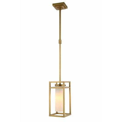 Bianca 1-Light Mini Pendant Finish: Burnished Brass