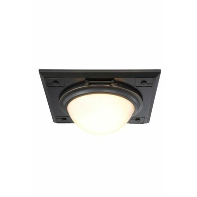 Cilla 2-Light Flush Mount Finish: Bronze