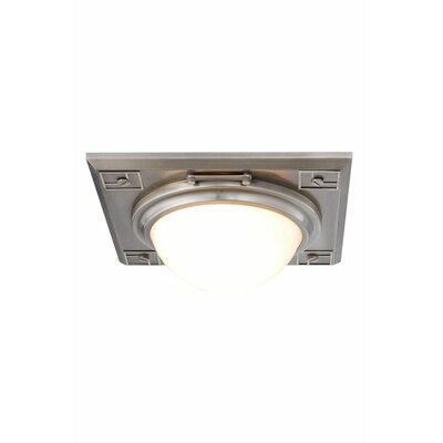 Fealty 2-Light Flush Mount Finish: Vintage Nickel