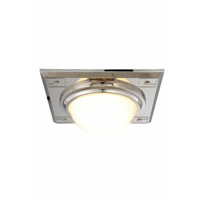 Fealty 2-Light Flush Mount Finish: Polished Nickel