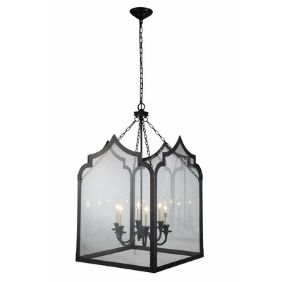 Newport 6-Light Foyer Pendant Finish: Bronze
