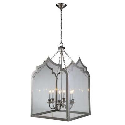 Boonton 6-Light Foyer Pendant Finish: Polished Nickel