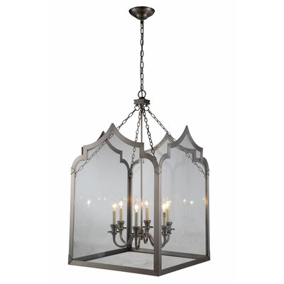 Boonton 6-Light Foyer Pendant Finish: Vintage Nickel