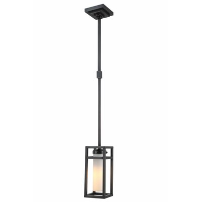 Simms 1-Light Metal Mini Pendant Finish: Bronze