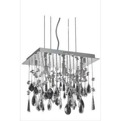 Delphinus Contemporary 3-Light Kitchen Island Pendant