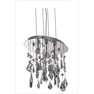 Delphinus 3-Light Kitchen Island Pendant