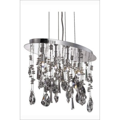 Delphinus 4-Light Kitchen Island Pendant