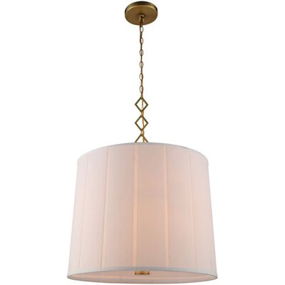 Ramonita 2-Light Drum Pendant Finish: Burnished Brass