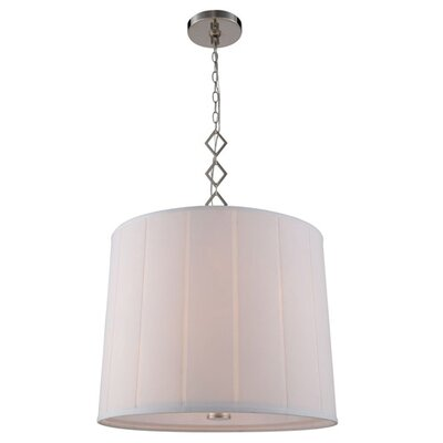 Ramonita 2-Light Drum Pendant Finish: Polished Nickel