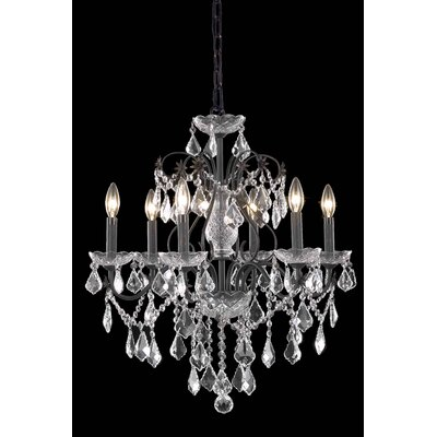 Thao Crystal Chandelier Crystal Grade: Royal Cut, Number Of Lights: 6
