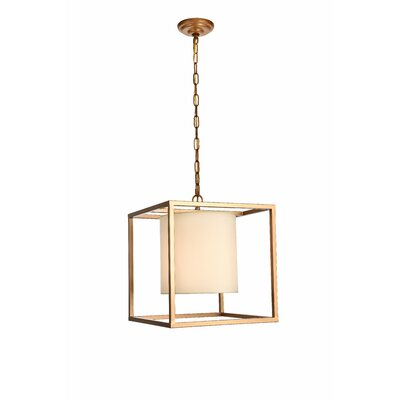 Reinhard 1-Light Mini Pendant Finish: Gold