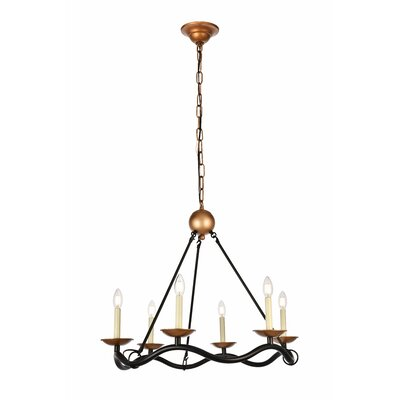 Sophy 6-Light Candle-Style Chandelier