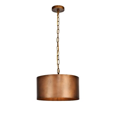 West Sacramento 1-Light Mini Pendant Finish: Brass
