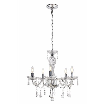 Colindale 5-Light Candle-Style Chandelier