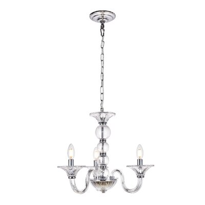 Brompton 3-Light Mini Chandelier