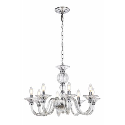 Brompton 8-Light Candle-Style Chandelier