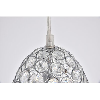 Clarke 1-Light Mini Pendant