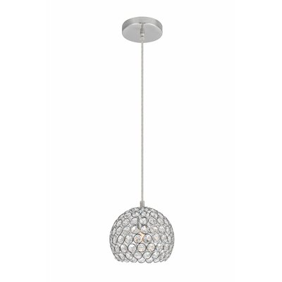 Clarke 1-Light Metal Mini Pendant