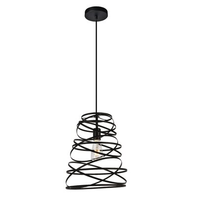 Reinke 1-Light Mini Pendant Size: 14.8 H x 11.8 W x 11.8 D