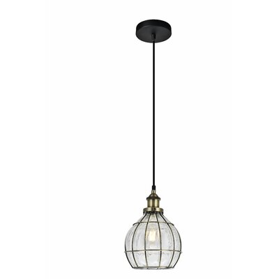 Sherice 1-Light Metal Mini Pendant