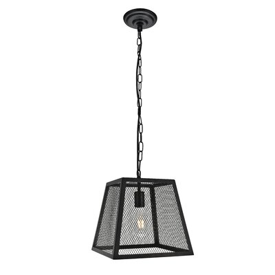 Rian 1-Light Mini Pendant Size: 12.8 H x 11.8 W x 11.8 D