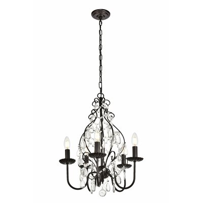Archway 5-Light Candle-Style Chandelier
