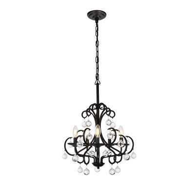 Knowsley 5-Light Candle-Style Chandelier