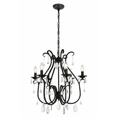 Beamond 6-Light Candle-Style Chandelier