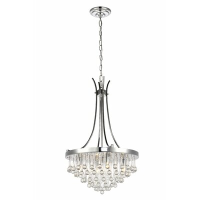 Azu 4-Light Crystal Chandelier