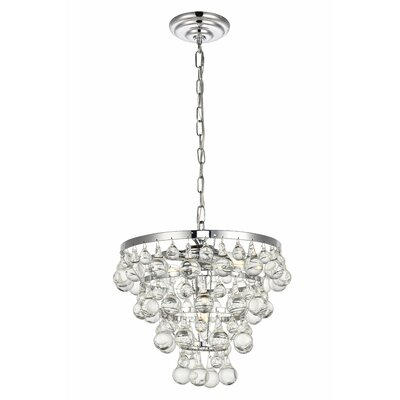 Botolph 3-Light Crystal Chandelier