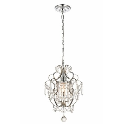 Bottrell 1-Light Crystal Pendant