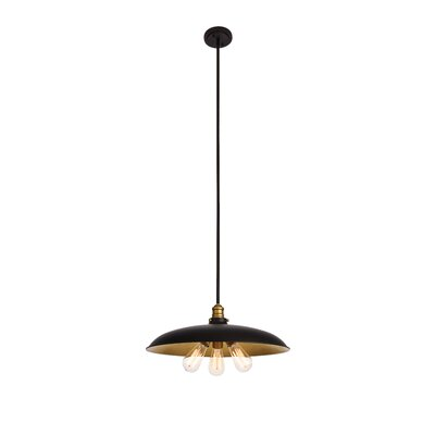 Alvarenga 3-Light Inverted Pendant
