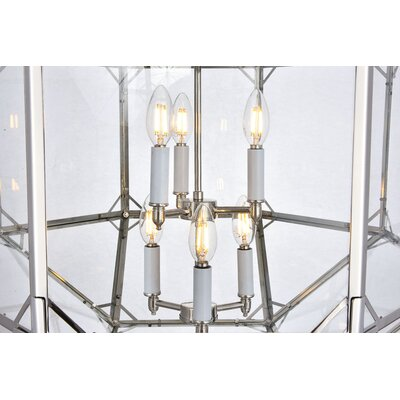 Puccio 6-Light Foyer Pendant