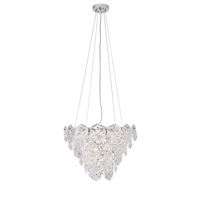 Arcadius 6-Light Crystal Pendant
