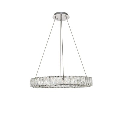 Anessa LED Kitchen Island Pendant Size: 80 H x 23.6 W x 23.6 D