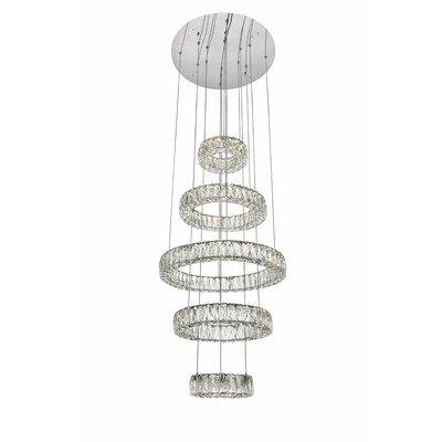 Anessa LED Crystal Pendant