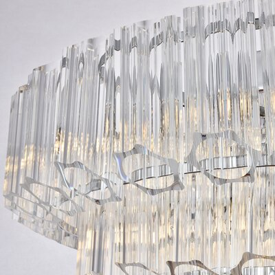Shameka 9-Light Crystal Chandelier