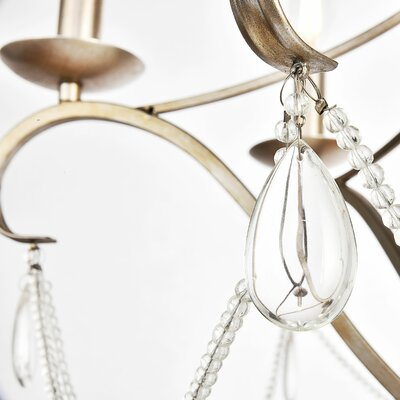 Calderdale 6-Light Candle-Style Chandelier