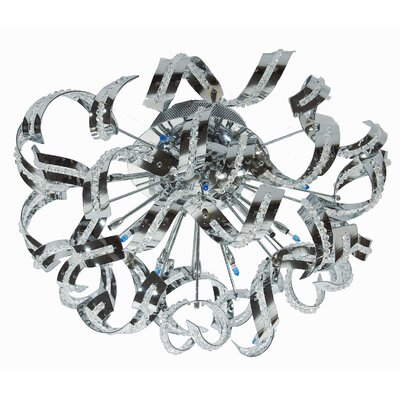 Presnell 12-Light Flush Mount